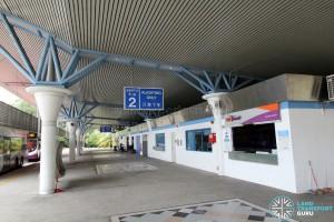 Tuas Bus Terminal - SBS Transit office near Alighting Berth 2