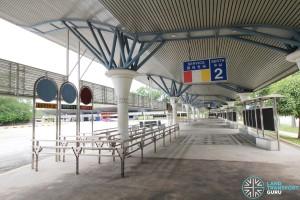Tuas Bus Terminal - Boarding Berth 2 (unused)