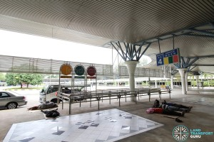 Tuas Bus Terminal - Boarding Berth 4 (unused)