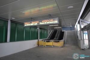 Tuas Link MRT Station - Exit B