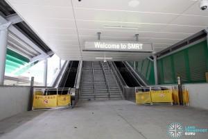 Tuas Link MRT Station - Exit A