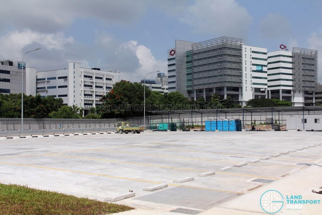 Ulu Pandan Bus Depot - Bus Park (Ancillary structures)