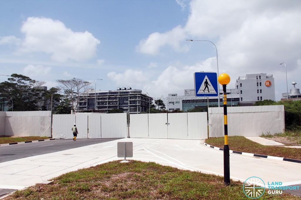 Ulu Pandan Bus Depot - Bus Park (Junction with Business Park Drive)