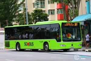Go-Ahead Mercedes-Benz Citaro (SG1018G) - Service 381