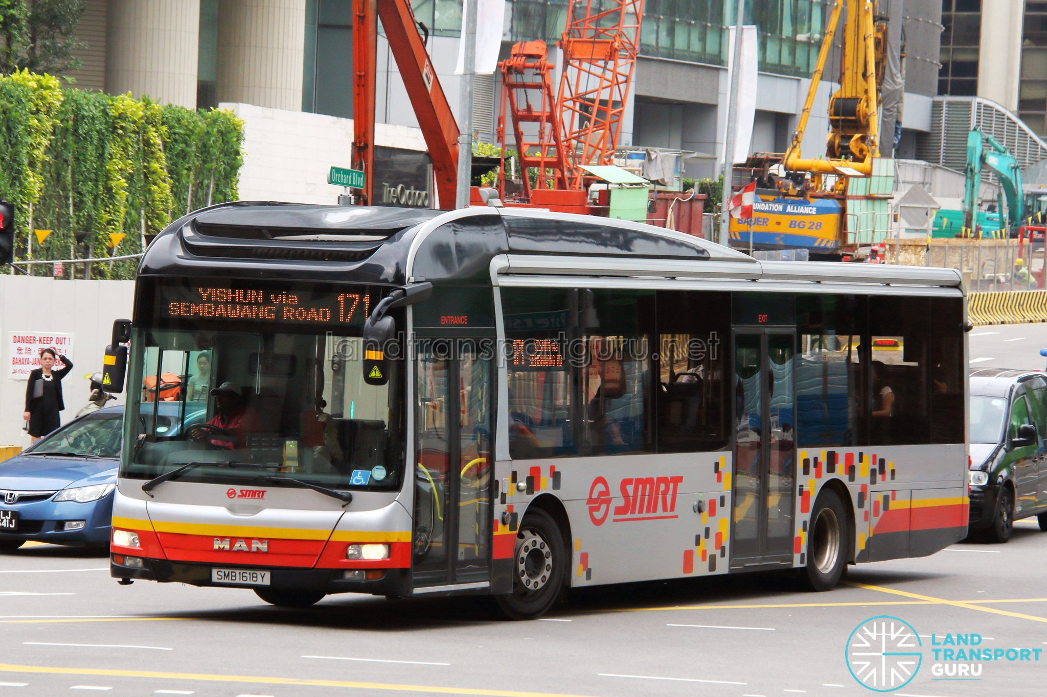 Bus Services SMRT Buses