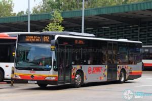 SMRT Mercedes-Benz Citaro (SG1691L) - Service 812