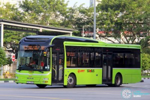 SMRT Buses MAN A22 (SG1730H) - Service 980