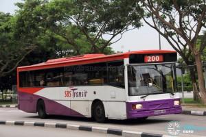 SBS Transit Volvo B10M MkIV DM3500 (SBS2814G) - Service 200