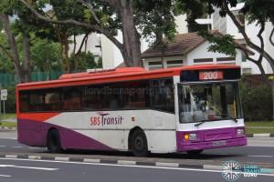 SBS Transit Volvo B10M MkIV DM3500 (SBS2832D) - Service 200