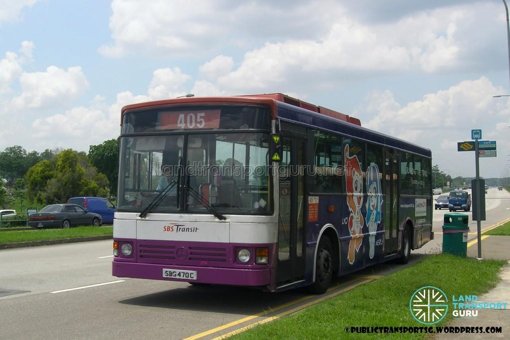 SBST Mercedes-Benz O405 DM (SBS470C) - Service 405