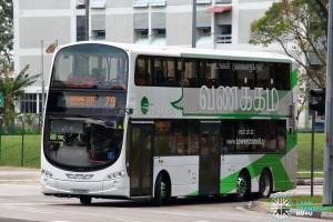 Tower Transit Service 79 - Volvo B9TL Wright (SG5009G)