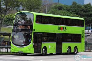 Tower Transit Service 79 - Volvo B9TL Wright (SG5026G)
