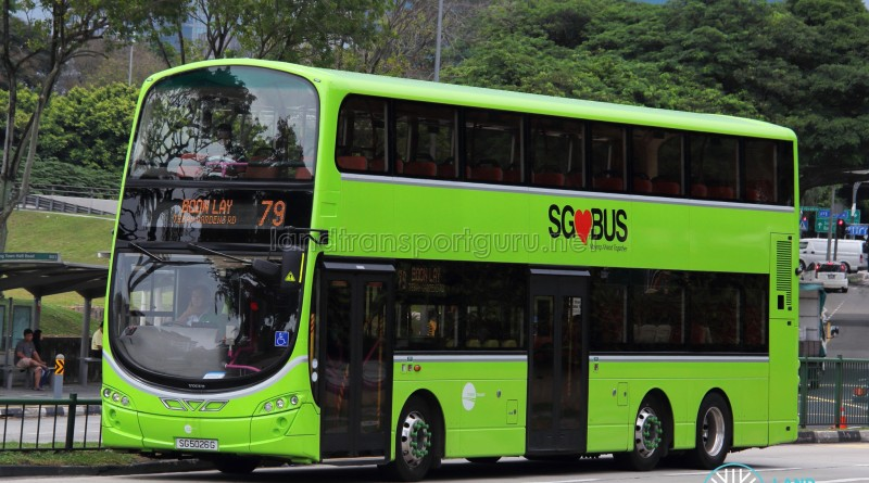 Tower Transit Service 79 - Volvo B9TL Wright (SG5026G)