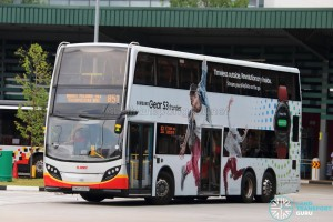 SMRT Alexander Dennis Enviro500 (SMB5082R) - Service 851