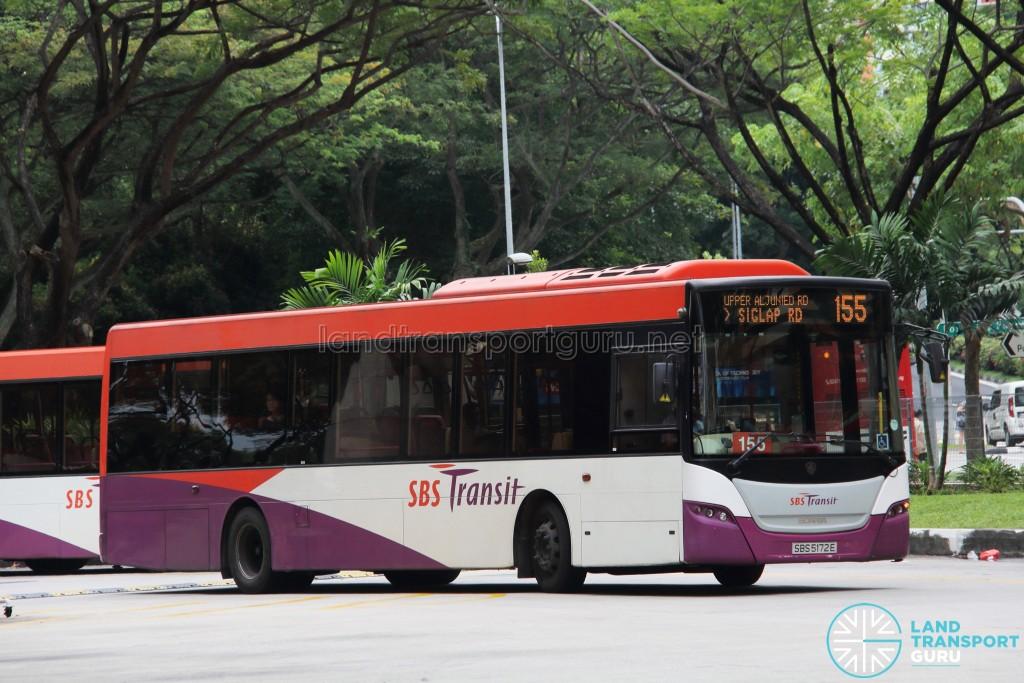 SBS Transit Scania K230UB (SBS5172E) - Service 155
