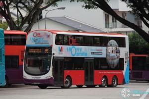 SBS Transit Volvo B9TL Wright (SG5356D) - Service 95