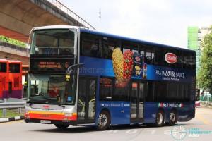SMRT MAN A95 (SMB5889E) - Service 61