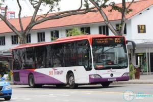 SBST Mercedes-Benz O530 Citaro (SBS6681X) - Service 155