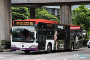 SBS Transit Mercedes-Benz O530 Citaro (SBS6863M) - Service 95