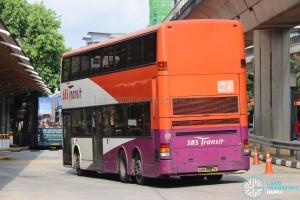 Rear of SBS Transit Dennis Trident (SBS9687K) - Service 94
