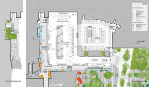 Bidadari Bus Interchange Floorplan