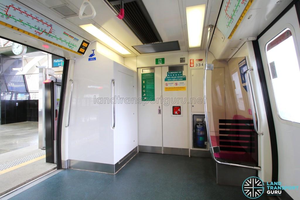 Kawasaki Heavy Industries & Nippon Sharyo C751B - Emergency Exit and Signalling equipment housing