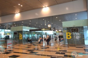 Changi Airport Skytrain - Public Area - Station B (Terminal 3)