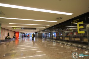 Changi Airport Skytrain - Public Area - Station E (Terminal 2)