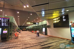 Changi Airport Skytrain - Transit Area - Station A (South) (Terminal 3)