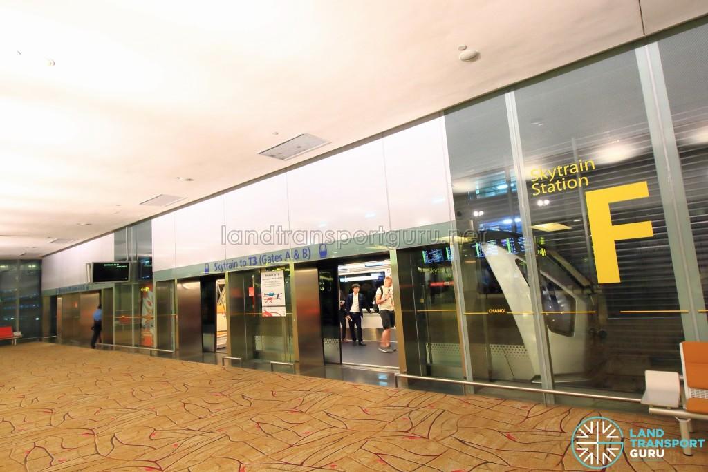 Changi Airport Skytrain - Transit Area - Station F (Terminal 2)