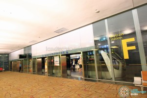 Changi Airport Skytrain - Transit Area - Station F (Terminal 2)