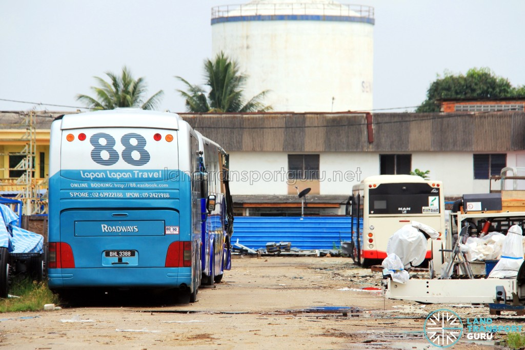 Gemilang Coachworks - SMB138Y prior to re-bodying into a MAN Lion's City Hybrid