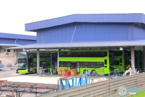 Gemilang Coachworks - MAN A95 Facelift buses undergoing final fitting works