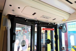 MAN Lion's City DD L Concept Bus (SG5999Z) - Entrance doors
