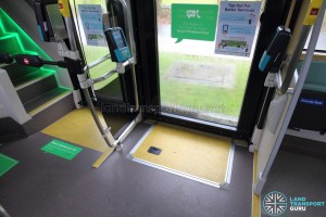 MAN Lion's City DD L Concept Bus (SG5999Z) - Manual wheelchair ramp at second door