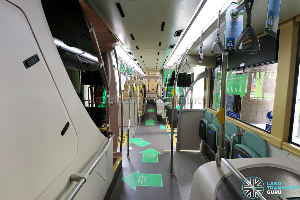 MAN Lion's City DD L Concept Bus (SG5999Z) - Lower Deck (Front to Back)