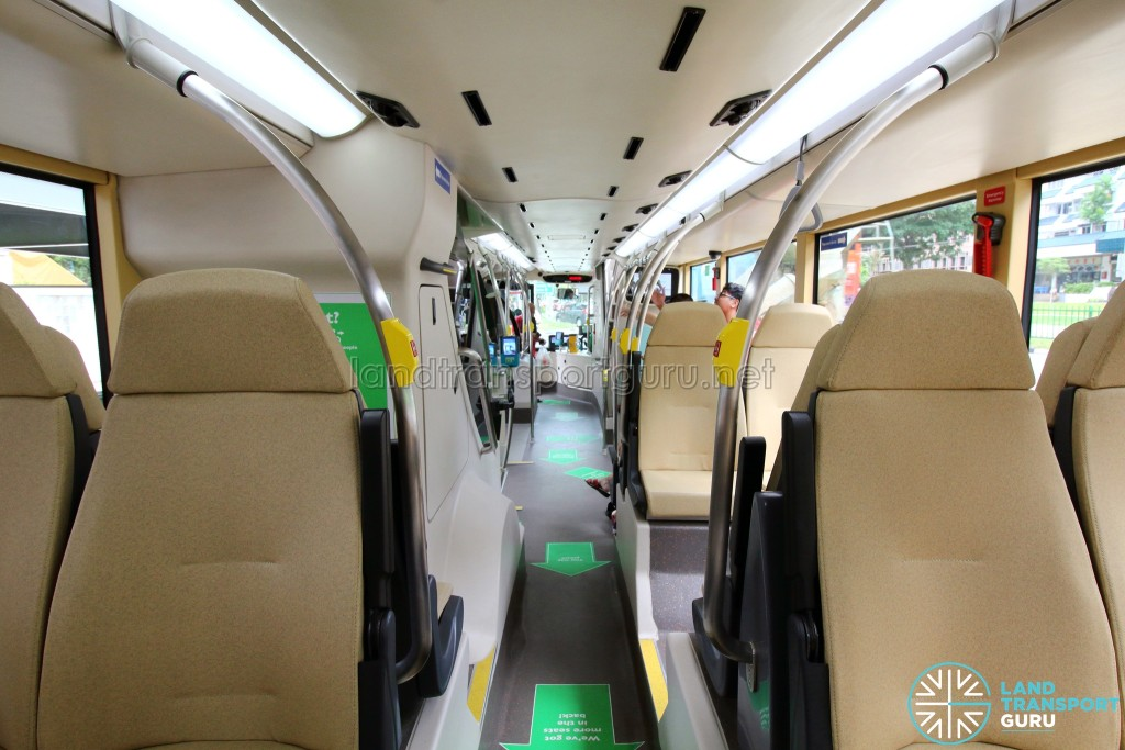 MAN Lion's City DD L Concept Bus (SG5999Z) - Lower Deck (Back to Front)