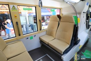 MAN Lion's City DD L Concept Bus (SG5999Z) - Lower Deck (Last row of seats)