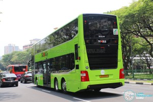 Tower Transit - MAN Lion's City DD L Concept Bus (SG5999Z) - Rear