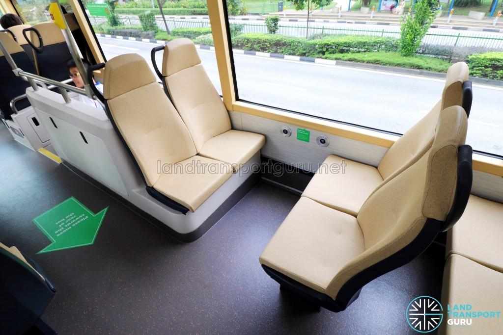 MAN Lion's City DD L Concept Bus (SG5999Z) - Upper Deck Rear-facing seats