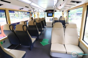 MAN Lion's City DD L Concept Bus (SG5999Z) - Upper Deck mid-section