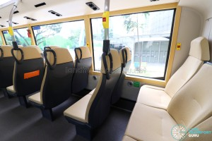 MAN Lion's City DD L Concept Bus (SG5999Z) - Upper Deck (Last row of seats)