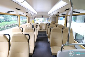 MAN Lion's City DD L Concept Bus (SG5999Z) - Upper Deck rear seating