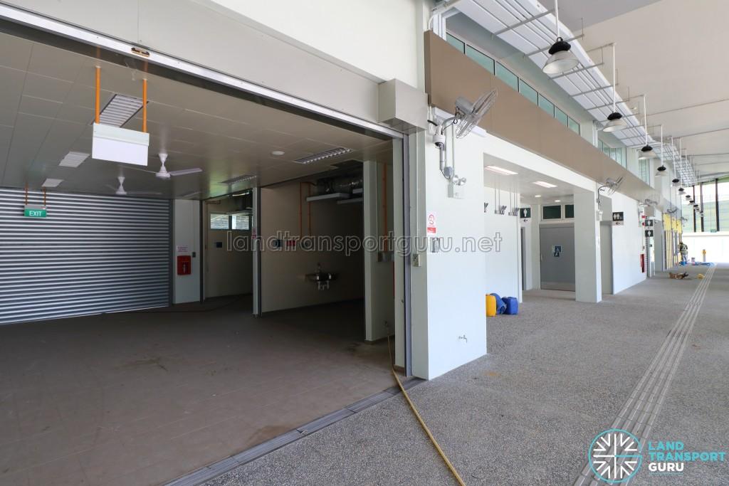 New Shenton Way Bus Terminal - NTWU Canteen