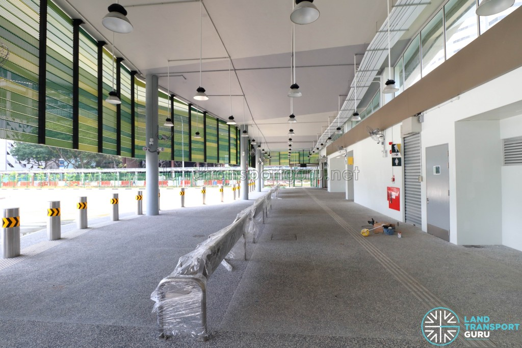 New Shenton Way Bus Terminal - Passenger Concourse