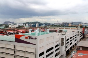 Soon Lee Bus Depot - Overview from adjacent building