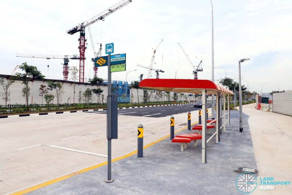 New Bus Stop: 70069 Aft Bidadari Pk Dr along Upper Aljunied Road
