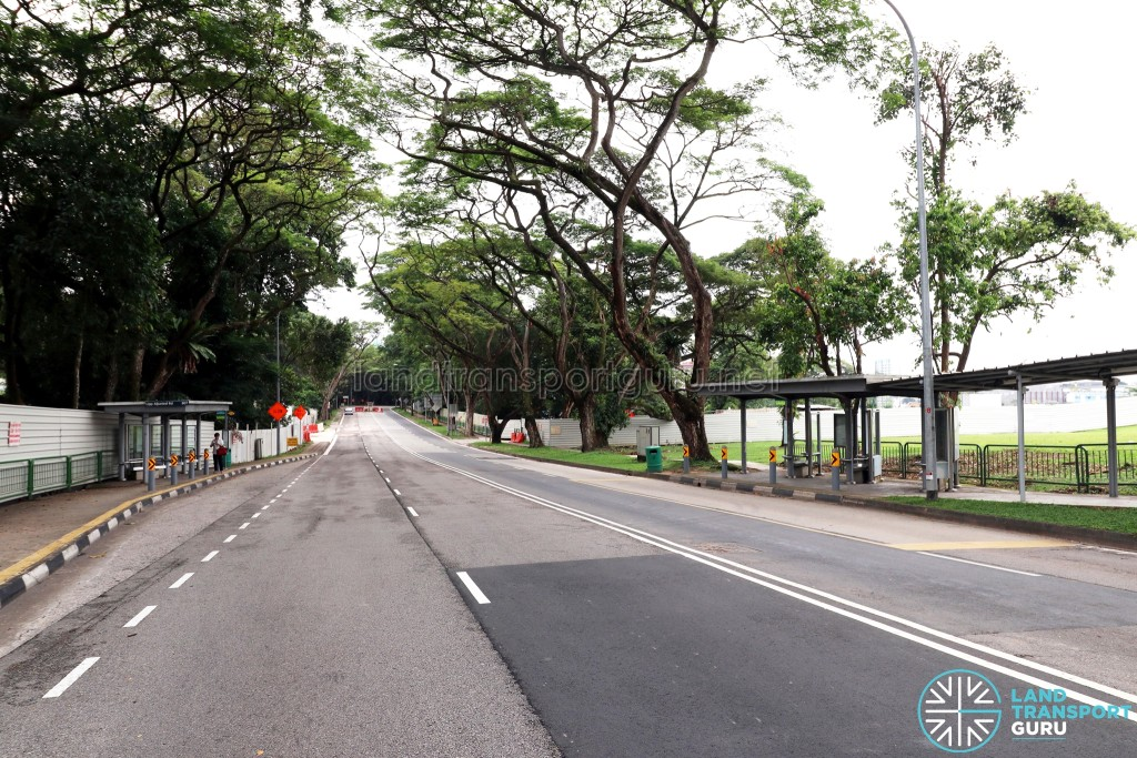 Upper Aljunied Road - Abolished bus stops