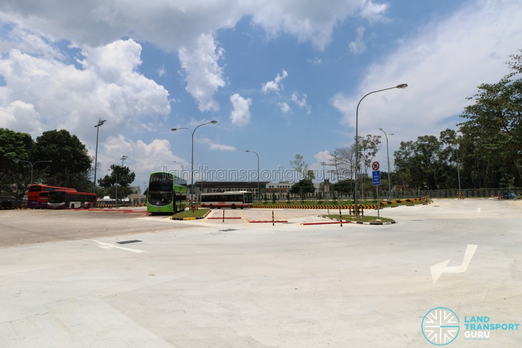 Upper East Coast Bus Terminal - Exit and Expanded lots