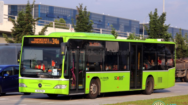 Go-Ahead Singapore Mercedes-Benz O530 Citaro (SG1071B) - Service 34A